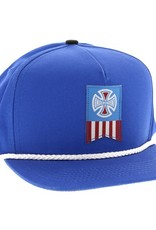Independent Independent- Cross Label- Royal Blue- Hats
