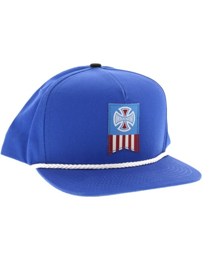 Independent Independent- Cross Label- Royal Blue- Hats