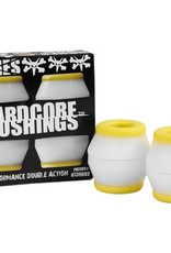 Bones Bones- Bushings- Hardcore- White/Yellow- Medium