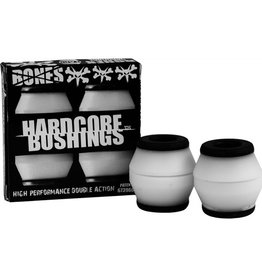 Bones Bones- Bushings- Hardcore- White/Black- Hard