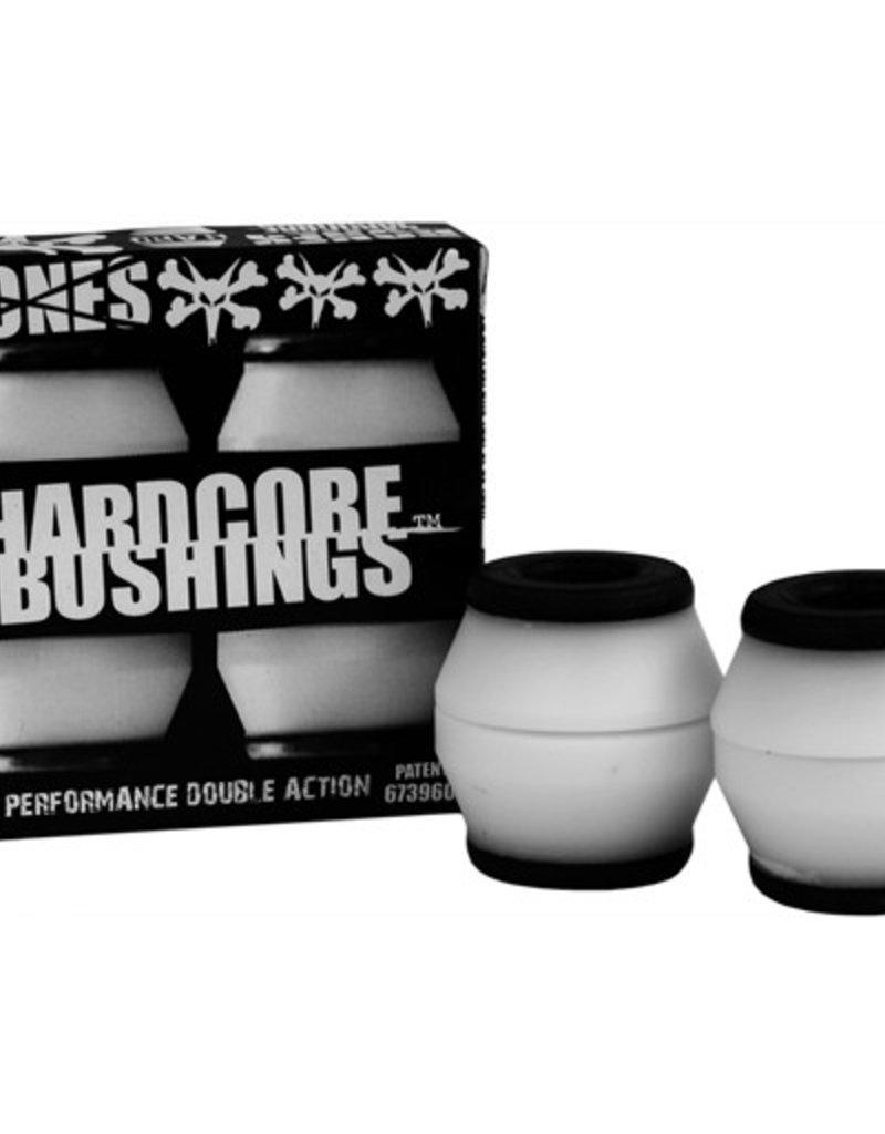 Bones Bones- Bushings- Hardcore- White/Black- Hard
