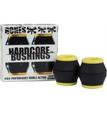 Bones Bones- Bushings- Hardcore- Black/Yellow- Medium