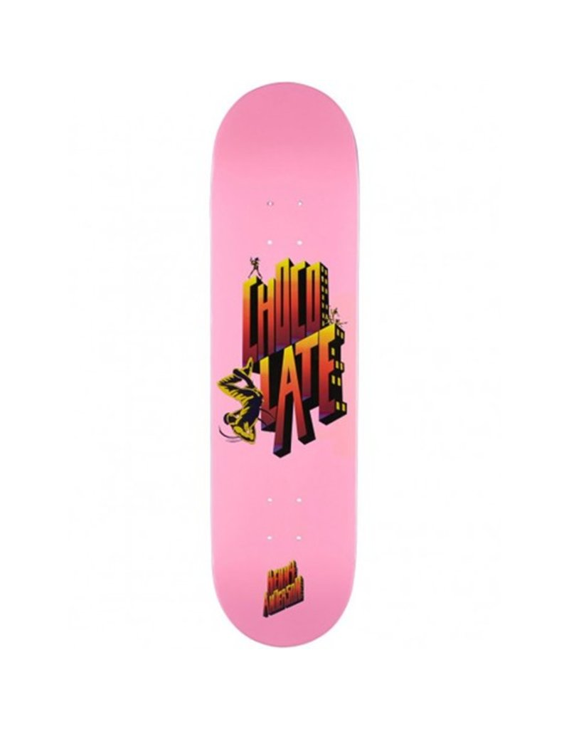 Chocolate Chocolate- Anderson Body Rock- 8.5in x 31.7in- Decks