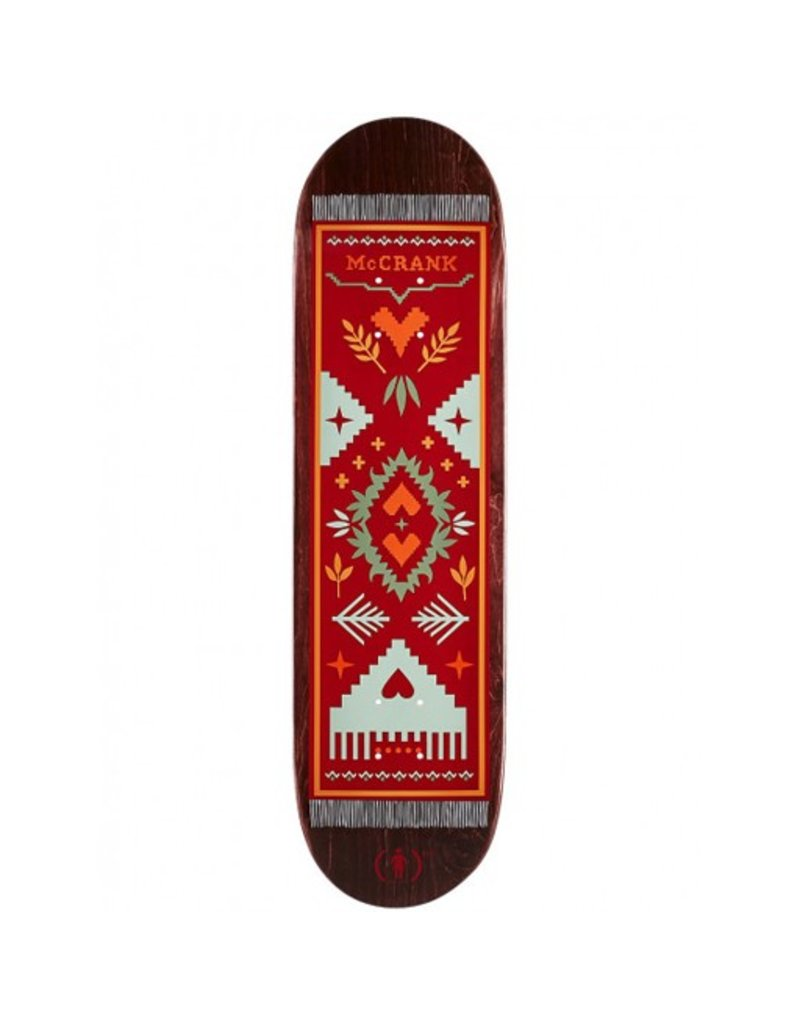 Girl Girl- McCrank Magique Carpet- 8.375in x 31.75in- Decks