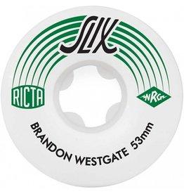 Ricta Ricta- Slix- Brandon Westgate- 53mm- 99a- Wheels