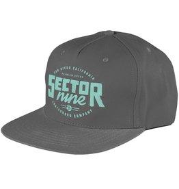 Sector 9 Sector 9- Lockstep- Grey- 5 Panel Snapback- Hats