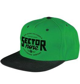 Sector 9 Sector 9- Lockstep- Green- 5 Panel Snapback- Hats