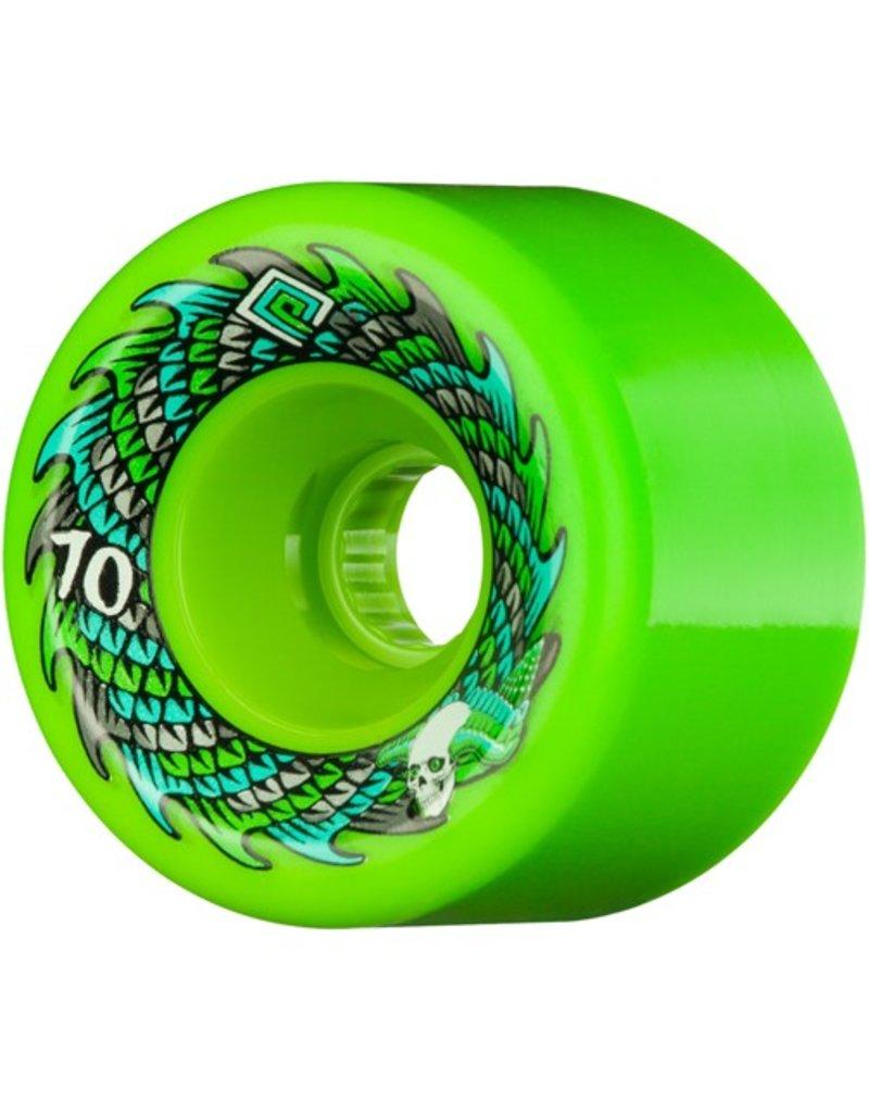 Powell Peralta Powell Peralta- Soft Slide- Offset- 70mm- 75a- Green- Wheel