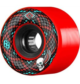 Powell Peralta Powell Peralta- Snakes- 69mm- 75a- Red- Wheels