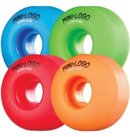Mini Logo Mini Logo- C Cut- 54mm- 101a- Assorted- Wheels