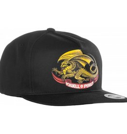 Powell Peralta Powell Peralta- Oval Dragon- Snap Back- Black- Hat