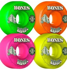 Bones Bones- 100's- Original Formula- 53mm- 100a- V4- Assorted- Wheels