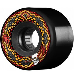 Powell Peralta Powell Peralta- Snakes- 66mm- 75a- Black- Wheels