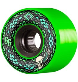 Powell Peralta Powell Peralta- Snakes- 66mm- 75a- Green- Wheels