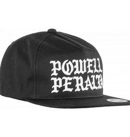 Powell Peralta Powell Peralta- Burst- Snap Back- Black- Hat