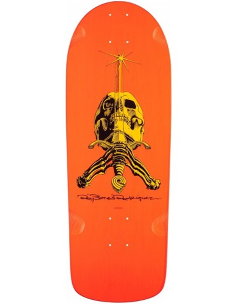 Powell Peralta Powell Peralta- Ray Rodriguez Skull and Sword- OG Snub- 10x28.25 in- Deck
