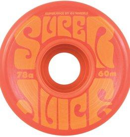 OJ OJ- Super Juice- 60mm- 78a- Red- Wheels