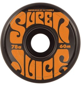 OJ OJ- Super Juice- 60mm- 78a- Black- Wheels