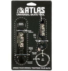 Atlas Trucks Atlas- Universal Skate Tool and Screwdriver Set- Black- 2017- Skate Tools