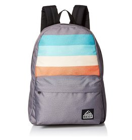 Reef Reef- Moving On- Backpack- Grey Stripes- Bags