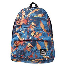 Reef Reef- Moving On- Backpack- Blue Splatter- Bags