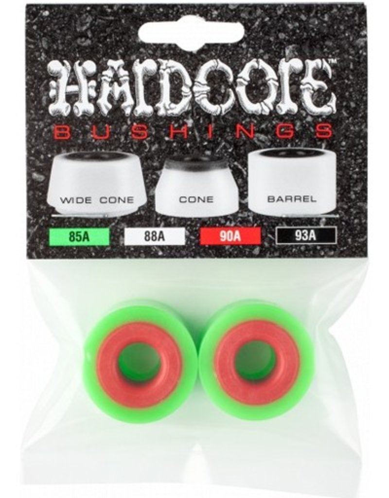 Bones Bones- Barrels- Hardcore- 85a- Green- Bushings