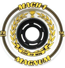 Venom Venom- Mach 1- Magnum- 80mm- 76a- White with Yellow