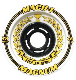 Venom Venom- Mach 1- Magnum- 80mm- 76a- White with Yellow