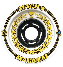 Venom Venom- Mach 1- Magnum- 80mm- 74a- White with Yellow