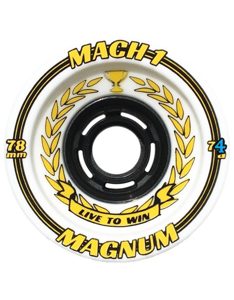 Venom Venom- Mach 1- Magnum- 80mm- 74a- White with Yellow