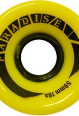 Paradise Wheels Paradise Wheels- Cruisers- 59mm- 78a- Yellow- Wheels
