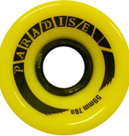 Paradise Wheels Paradise Wheels- Cruisers- 59mm- 78a- Yellow- Wheels