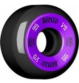 Bones Bones- 100's- Original Formula- 55mm- 100a- V5- Black/Purple- Wheels
