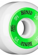 Bones Bones- 100's- Original Formula- 54mm- 100a- V5- White/Green- Wheels