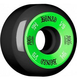 Bones Bones- 100's- Original Formula- 54mm- 100a- V5- Black/Green- Wheels
