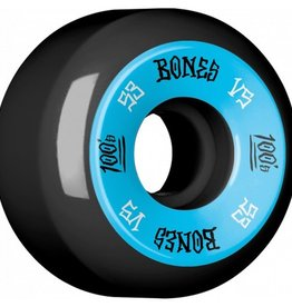 Bones Bones- 100's- Original Formula- 53mm- 100a- V5- Black/Blue- Wheels