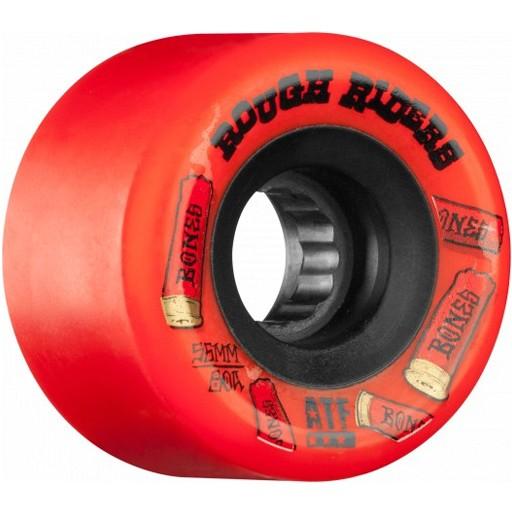 Bones Bones- Rough Riders- Shotgun- All Terrain Formula- 59mm- 80a- Red- Wheels