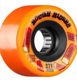 Bones Bones- Rough Riders- Shotgun- All Terrain Formula- 59mm- 80a- Orange- Wheels