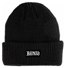 Bones Bones- OG Logo- Black- Beanie