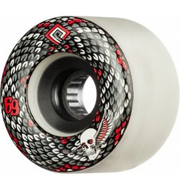 Powell Peralta Powell Peralta- Snakes- 69mm- 75a- White- Wheels