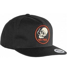 Powell Peralta Powell Peralta- Smoking Skull- Snap Back- Black- Hat