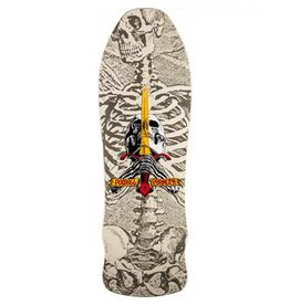 Powell Peralta Powell Peralta- Geegah Skull and Sword- 9.75 inch- White- Deck
