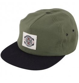 Independent Independent- Anytime Label- Snapback- Olive/Black- Hat