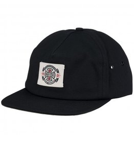 Independent Independent- Anytime Label- Snapback- Black- Hat