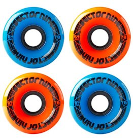 Sector 9 Sector 9- 9 Balls- 64mm- 78a- Orange and Blue combo- Wheels
