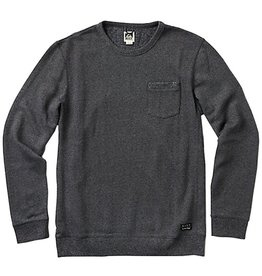 Reef Reef- Coast- Crew- Black Heather- Sweatshirts