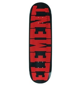 Element Element- Bold- BLK/RED- Featherlight- 8.75 x 32.45 inches- Deck
