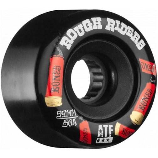 Bones Bones- Rough Riders- Shotgun- All Terrain Formula- 59mm- 80a- Black- Wheels