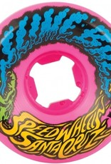Santa Cruz Santa Cruz- Slime Balls- Vomit Mini- 54mm- 97a- Neon Pink- Wheels