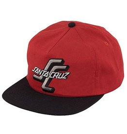 Santa Cruz Santa Cruz- The OGSC- Snapback- Cardinal/Black- Hat